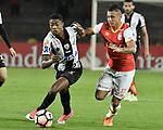Independiente Santa Fe igualó como local 0-0 ante Santos. Fase de grupos Conmebol Libertadores 2017.