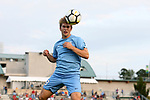 CARY, NC - SEPTEMBER 29: UNC's Jack Skahan. The University of North Carolina Tar Heels hosted the North Carolina State University Wolfpack on September 29, 2017 at Koka Booth Field at WakeMed Soccer Park in Cary, NC in a Division I college soccer game.