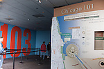 Exhibits inside the Willis Tower, Chicago, IL