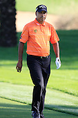 Jeev Milkha Singh (IND) walks to the 16th green during Sunday's Final Round of the 2013 Omega Dubai Desert Classic held at the Emirates Golf Club, Dubai, 3rd February 2013..Photo Eoin Clarke/www.golffile.ie