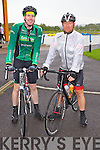 Cycling in the Heros week cycle from the Tralee Wetlands to Dingle on Sunday were From Left: Aidan Scanlon and Micheal O'Sullivan from Tralee.