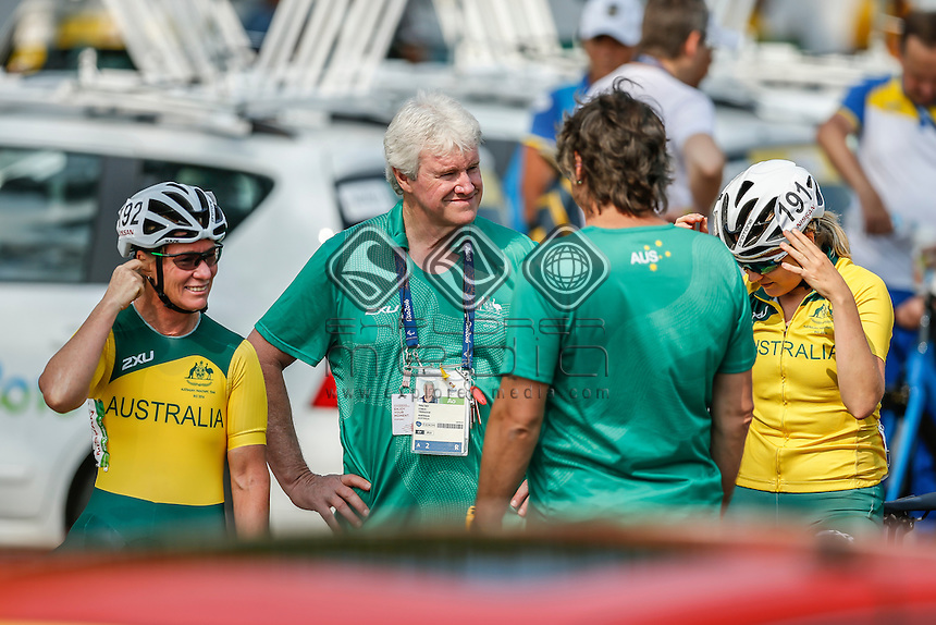 Susan Powell Women's Road Race C4-5<br /> Pontal <br /> 2016 Paralympic Games - RIO Brazil<br /> Australian Paralympic Committee<br /> Saturday 17 September 2016<br /> &copy; Sport the library / Greg Smith