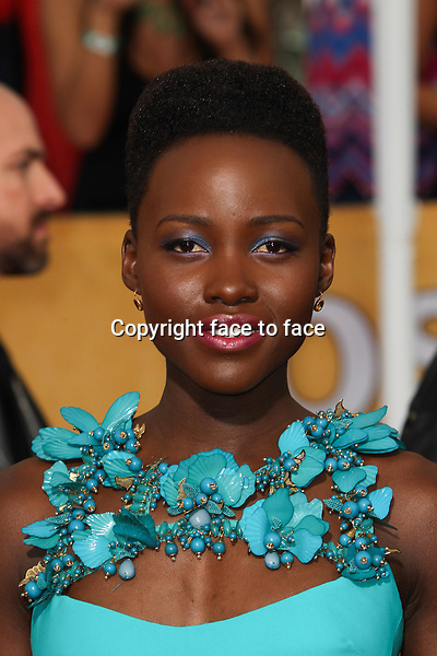 LOS ANGELES, CA - JANUARY 18: Lupita Nyong'o attending the 2014 SAG Awards in Los Angeles, California on January 18, 2014.<br /> Credit: RTNUPA/MediaPunch<br />