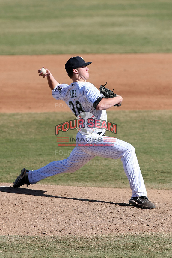Jay Voss - Mesa Solar Sox, 2009 Arizona Fall League.Photo by:  Bill Mitchell/Four Seam Images..