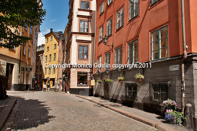 Old Town of Stockholm, Sweden