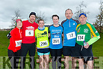 participants who took part in the Kerry's Eye Valentines Weekend 10 mile road race on Sunday were Maria Hayes Zeb Olsen, Tessie White, Jackie O'Connell, Dermot O'Callaghan, Tommy Kane