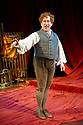 Simon Callow performing Mr Chops by Charles Dickens. Part of a double bill of Charles Dickens one man plays Dr Marigold and Mr Chops. Opens at The Riverside Studios on 15/12/09. Credit Geraint Lewis