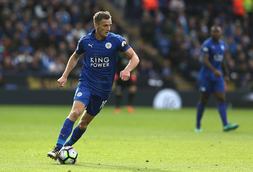 Leicester City's Andy King<br /> <br /> Photographer Stephen White/CameraSport<br /> <br /> The Premier League - Leicester City v Crystal Palace - Saturday 22nd October 2016 - King Power Stadium - Leicester<br /> <br /> World Copyright &copy; 2016 CameraSport. All rights reserved. 43 Linden Ave. Countesthorpe. Leicester. England. LE8 5PG - Tel: +44 (0) 116 277 4147 - admin@camerasport.com - www.camerasport.com