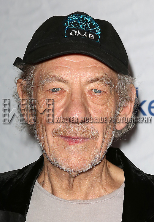 Sir Ian McKellen attends the 14th Annual 'Only Make Believe' Gala at the Bernard B. Jacobs Theatre on November 4, 2013  in New York City.