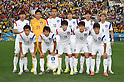 South Korea team group line-up (KOR),<br /> JUNE 26, 2014 - Football / Soccer :<br /> South Korea team group shot (Top row - L to R) Kim Young-Gwon, Kim Seung-Gyu, Kim Shin-Wook, Ki Sung-Yueng, Hong Jeong-Ho, Son Heung-Min, (Bottom row - L to R) Yun Suk-Young, Koo Ja-Cheol, Han Kook-Young, Lee Yong and Lee Chung-Yong before the FIFA World Cup Brazil 2014 Group H match between South Korea 0-1 Belgium at Arena de Sao Paulo in Sao Paulo, Brazil. (Photo by SONG Seak-In/AFLO)
