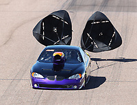Feb 23, 2019; Chandler, AZ, USA; NHRA top sportsman driver Raul Perez during qualifying for the Arizona Nationals at Wild Horse Pass Motorsports Park. Mandatory Credit: Mark J. Rebilas-USA TODAY Sports