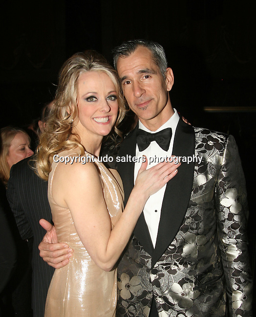 Cast Member Angie Schworer  and Choreographer Jerry Mitchell Attend the Catch Me If You Can Opening Night After Party Held At Cipriani 42nd Street, 4/10/11