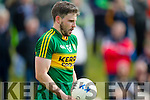 Alan Fitzgerald Kerry in action against  Cork in the National Football league in Austin Stack Park, Tralee on Sunday.