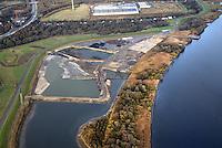 Kreetsand: EUROPA, DEUTSCHLAND, HAMBURG 19.11.2016:   Tiedeelbe Konzept Kreetsand, Hamburg Port Authority (HPA), soll auf der Ostseite der Elbinsel Wilhelmsburg zusaetzlichen Flutraum für die Elbe schaffen. Das Tidevolumen wird durch diese strombauliche Massnahme vergroessert und der Tidehub reduziert. Gleichzeitig ergeben sich neue Moeglichkeiten für eine integrative Planung und Umsetzung verschiedenster Interessen und Belange aus Hochwasserschutz, Hafennutzung, Wasserwirtschaft, Naturschutz und Naherholung.