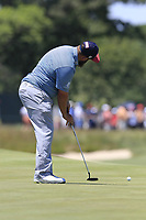 Andrew &quot;Beef&quot; Johnston (ENG) putts on the 7th green during Saturday's Round 3 of the 118th U.S. Open Championship 2018, held at Shinnecock Hills Club, Southampton, New Jersey, USA. 16th June 2018.<br /> Picture: Eoin Clarke | Golffile<br /> <br /> <br /> All photos usage must carry mandatory copyright credit (&copy; Golffile | Eoin Clarke)