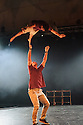 Edinburgh, UK. 08.08.2015. Barely Methodical Troupe presents BROMANCE, in the Beauty, part of the new Underbelly Circus Hub on the Meadows, during Edinburgh Festival Fringe. Photograph © Jane Hobson