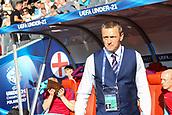 June 19th 2017, Kielce, Poland; UEFA European U-21 football championships, England versus Slovakia; England coach Adrian Boothroyd (ENG)