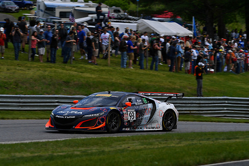 Pirelli World Challenge<br /> Grand Prix of Lime Rock Park<br /> Lime Rock Park, Lakeville, CT USA<br /> Saturday 27 May 2017<br /> Peter Kox / Mark Wilkins<br /> World Copyright: Richard Dole/LAT Images<br /> ref: Digital Image RD_LMP_PWC_17166