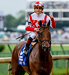 May 4, 2019 : #3 Digital Age, ridden by Irad Ortiz, Jr., wins the American Turf on Kentucky Derby Day at Churchill Downs on May 4, 2019 in Louisville, Kentucky. Mary Meek/Eclipse Sportswire/CSM