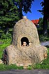 Muzeum Kultury Ludowej - Park Etnograficzny w Węgorzewie, piec ceramiczny.