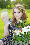 Lisa O'Mahony Cordal who won the 2012 Rose of Cons in the River Island Hotel on Friday night..