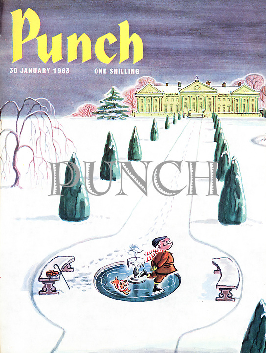 Punch (Front cover, 30 January 1963)