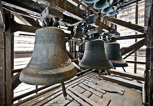 Feb. 21, 2013; Basilica Bells..Photo by Matt Cashore/University of Notre Dame