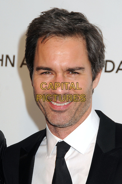 Eric McCormack.21st Annual Elton John Academy Awards Viewing Party held at West Hollywood Park, West Hollywood, California, USA..February 24th, 2013.oscars headshot portrait black suit white shirt stubble facial hair .CAP/ADM/BP.©Byron Purvis/AdMedia/Capital Pictures.