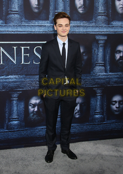 Hollywood, CA - April 10 Dean-Charles Chapman Attending Premiere Of HBO's &quot;Game Of Thrones&quot; Season 6 at The TCL Chinese Theatre On April 10, 2016. <br /> CAP/MPI/SAD<br /> &copy;SAD/MPI/Capital Pictures