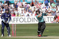 Ollie Pope hits out for Surrey during Essex Eagles vs Surrey, Vitality Blast T20 Cricket at The Cloudfm County Ground on 5th August 2018