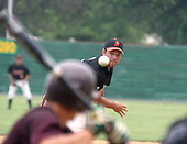 Quakertown's Blazers pitcher #9 Joe Matteo from Lehigh University, pitches against Kutztown Rockies during the Atlantic Collegiate Baseball League on Tuesday July 4, 2006 at Quakertown Memorial Park in Quakertown, Pa. (Jane Therese/Special to The Morning Call).