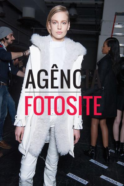 Nova Iorque, EUA &ndash; 02/2014 - Desfile de Diesel durante a Semana de moda de Nova Iorque - Inverno 2014. <br /> Foto: FOTOSITE