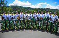 The Australia team. 2018 Annika Australiasia Invitational Junior-Am at Royal Wellington Golf Club in Upper Hutt, Wellington, New Zealand on Saturday, 15 December 2018. Photo: Dave Lintott / lintottphoto.co.nz