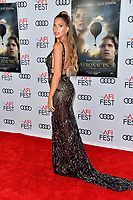 "LOS ANGELES, USA. November 20, 2019: Kara Del Toro at the gala screening for ""The Aeronauts"" as part of the AFI Fest 2019 at the TCL Chinese Theatre.<br /> Picture: Paul Smith/Featureflash"