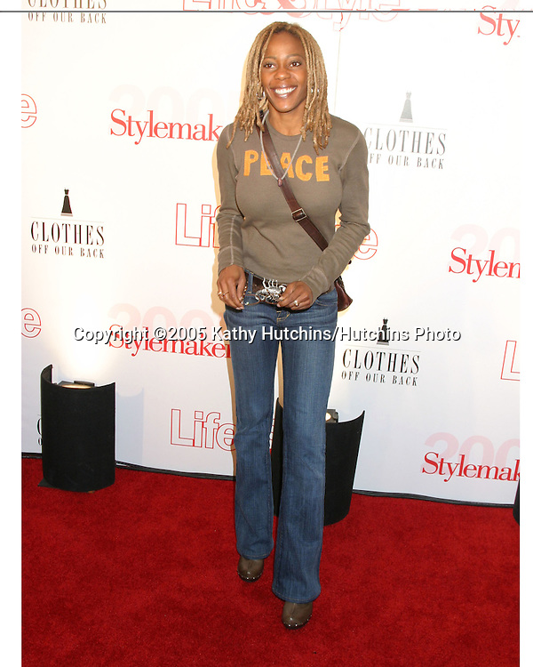 Debra WIlson.Stylemakers 2005.Los Angeles, CA.May 26, 2005.©2005 Kathy Hutchins / Hutchins Photo