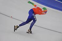 SCHAATSEN: BERLIJN: Sportforum, 06-12-2013, Essent ISU World Cup, 3000m Ladies Division A, Antoinette de Jong (NED), ©foto Martin de Jong