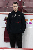 Tom Maguire (BC - Senior Manager) - The Boston College Eagles defeated the visiting University of Vermont Catamounts to sweep their quarterfinal matchup on Saturday, March 16, 2013, at Kelley Rink in Conte Forum in Chestnut Hill, Massachusetts.