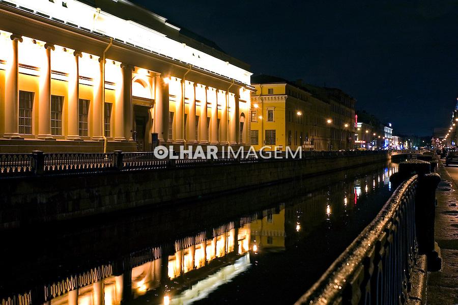 Edifício do Russian Museum em São Petersburgo. Russia. 2008. Foto de Cris Berger.