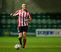 Lincoln City U18's Kyle Watkins<br /> <br /> Photographer Chris Vaughan/CameraSport<br /> <br /> The FA Youth Cup Second Round - Lincoln City U18 v South Shields U18 - Tuesday 13th November 2018 - Sincil Bank - Lincoln<br />  <br /> World Copyright © 2018 CameraSport. All rights reserved. 43 Linden Ave. Countesthorpe. Leicester. England. LE8 5PG - Tel: +44 (0) 116 277 4147 - admin@camerasport.com - www.camerasport.com
