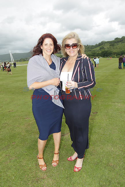 Elemis Polo at the Manor 2013<br /> Celtic Manor Resort<br /> Karen Siviter &amp; Jacqueline Alp<br /> 15.06.13<br /> &copy;Steve Pope
