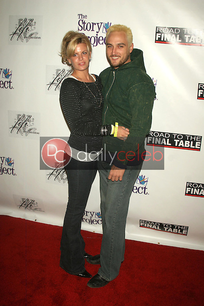 Erika Genovese and Alex A Quinn<br />at Poker for Katrina Relief. Montmartre Lounge, Hollywood, CA. 12-01-05<br />Dave Edwards/DailyCeleb.com 818-249-4998