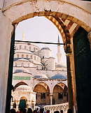 TURKEY, Istanbul, view of Sultan Ahmed Mosque