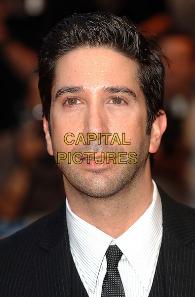 "DAVID SCHWIMMER.""Run Fat Boy Run"" premiere at the Odeon West End, London, England. .September 3rd, 2007.headshot portrait stubble facial hair .CAP/BEL.©Belcher/Capital Pictures"