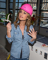 LAS VEGAS, NV - May 10 : Giada DeLaurentiis pictured during a hard hat tour of her new restaurant Giada at The Cromwell in Las Vegas, NV on May 10, 2014. SP1/Starlitepics