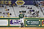 Tulane tops LSU, 7-6. in baseball action at Alex Box Stadium.