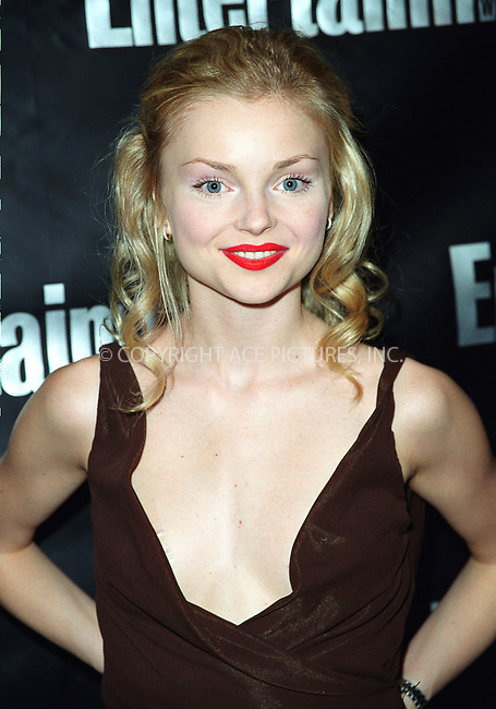 IZABELLA MIKO attending the Entertainment Weekly's 8th Annual Academy Awards Viewing Party at Elaine's Restaurant in New York. March 24, 2002.  © 2002 by Alecsey Boldeskul/NY Photo Press.   ..*PAY-PER-USE*      ....NY Photo Press:  ..phone (646) 267-6913;   ..e-mail: info@nyphotopress.com