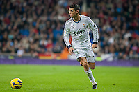 Cristiano Ronaldo leads an attack