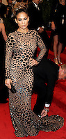 "NEW YORK, NY - MAY 06: Jennifer Lopez arrives at the ""PUNK: Chaos To Couture"" Costume Institute Gala held at the Metropolitan Museum of Art on May 6, 2013 in New York City. (Photo by Celebrity Monitor)"