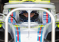 LANCE STROLL (CAN) of Williams Martini Racing during The Formula 1 2018 Rolex British Grand Prix at Silverstone Circuit, Northampton, England on 8 July 2018. Photo by Vince  Mignott.
