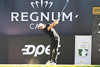 Thomas Pieters (BEL) tees off the 18th tee during Friday's Round 2 of the 2018 Turkish Airlines Open hosted by Regnum Carya Golf &amp; Spa Resort, Antalya, Turkey. 2nd November 2018.<br /> Picture: Eoin Clarke | Golffile<br /> <br /> <br /> All photos usage must carry mandatory copyright credit (&copy; Golffile | Eoin Clarke)